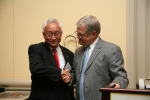 C.T. Hsu and Valencia President Sandy Shugart