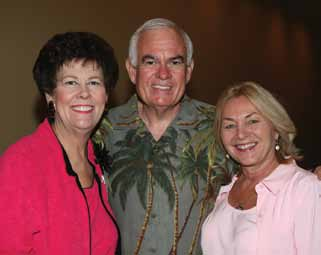 Richard Crotty, Toni Jennings, Pam Crotty