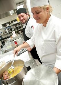 Ken Bourgoin's Culinary class
