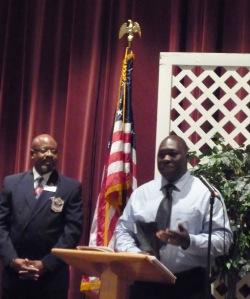 scholarship recipient Alton Mercer