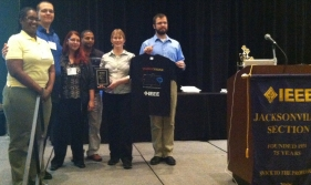 1st Place Winners of IEEE Southeast Conference 2013 T-Shirt Design Competition