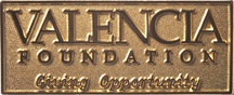 "This lapel pin is given in appreciation to those faculty and staff members who are ""Giving Opportunity"" to Valencia students through payroll contributions to the Valencia Foundation"