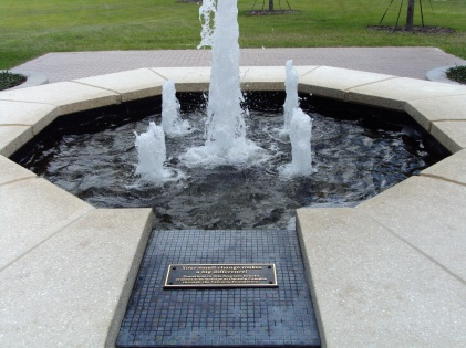 Your small change makes a big difference! Donations to this fountain benefit student scholarships at Osceola Campus through the Valencia Foundation.