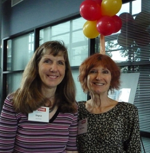 Dr. Romano and Barbara Shell at the First One kick-off