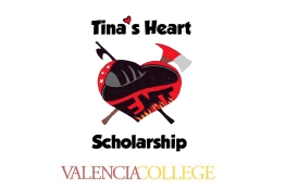 Thank you so much for your donation to Tina's Heart Scholarship. Your generosity made this scholarship possible. Most donations came through the 2011 and 2012 Tina's Turn Out events at Lake Eola, the support of Valencia's Alumni Association, and through the 2013 graduating class at Valencia College. We are so very grateful to all of you.