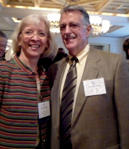 Sue and Steve Foreman at National Philanthropy Day